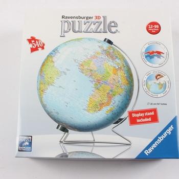 3D puzzle Zeměkoule 540 dílů