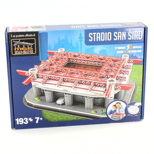 Model stadionu San Siro 3D puzzle