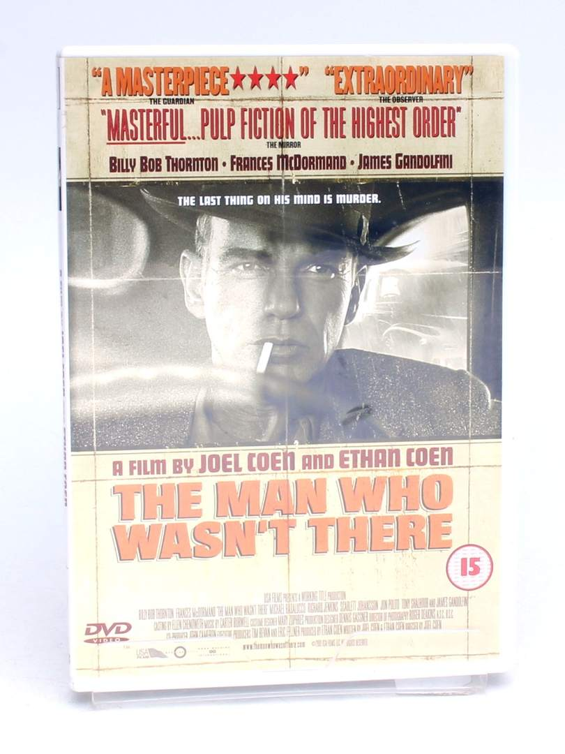 DVD The man who wasn't there