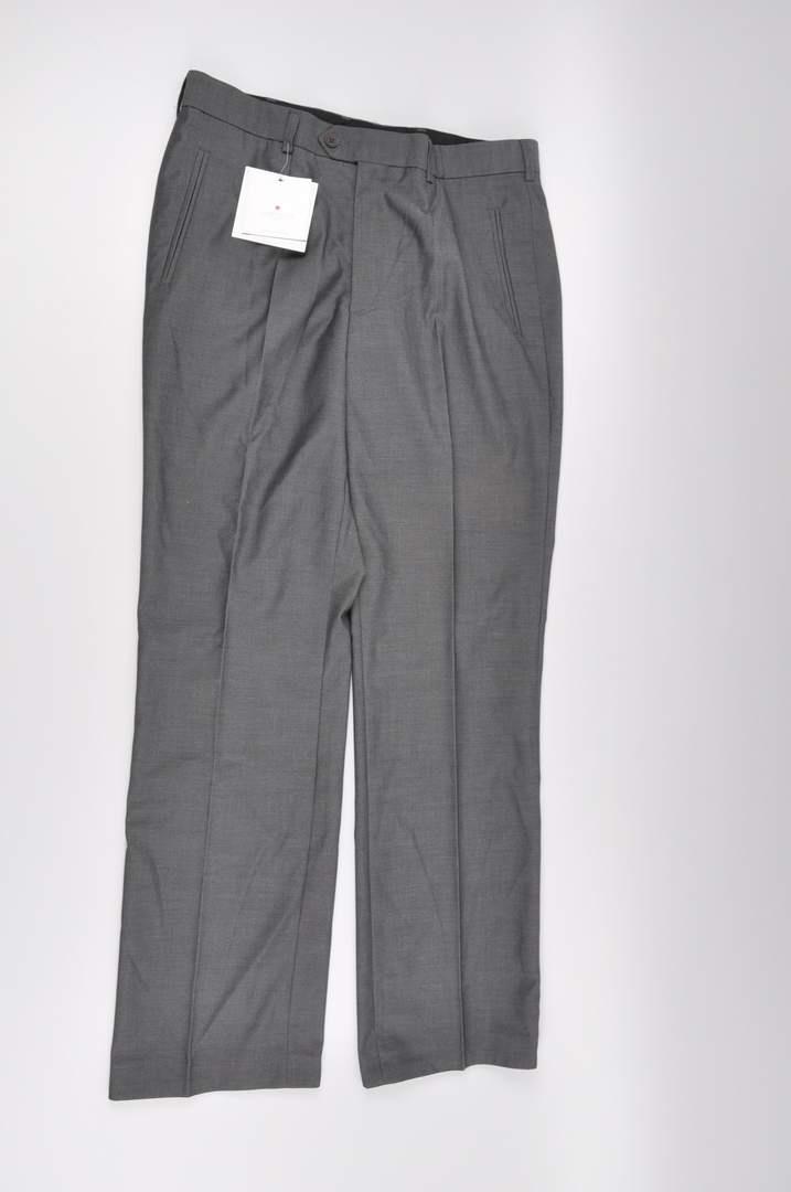 Pánské společenské kalhoty Dalko, šedé