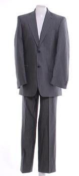 Pánský oblek Blažek šedé barvy