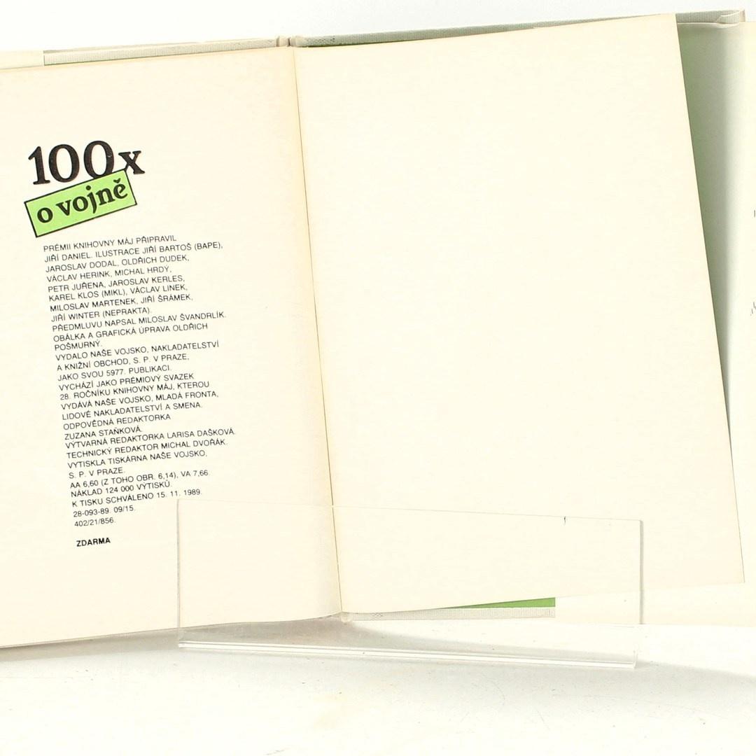 Kniha Jiří Daniel: 100x o vojně
