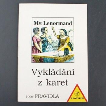 Vykládání Lenormand Piatnik Pravidla