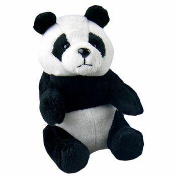 Plyšová panda pro děti černo-bílá