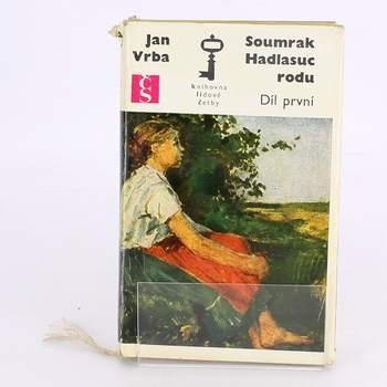 Kniha Soumrak Hadlasuc rodu(1.) Jan Vrba