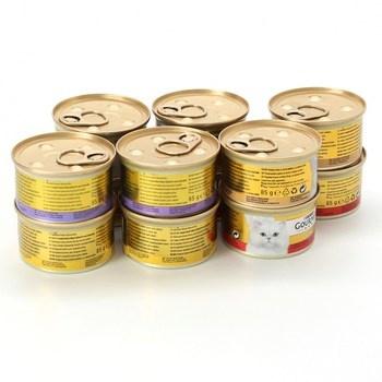 Konzervy Purina Gourmet Gold MIX 12x85g