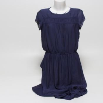 Dámské dlouhé šaty Esprit modré velikost L