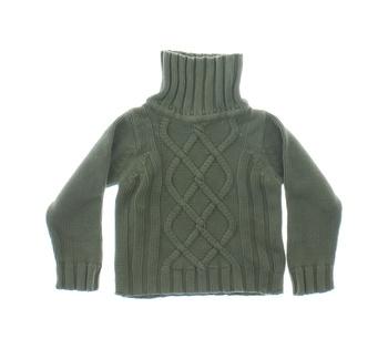 Dětský svetr rolák H&M khaki