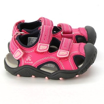 Dětské sandále Kamik semišové