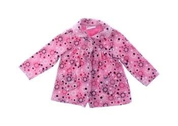 Dívčí kabátek Dopodopo růžový