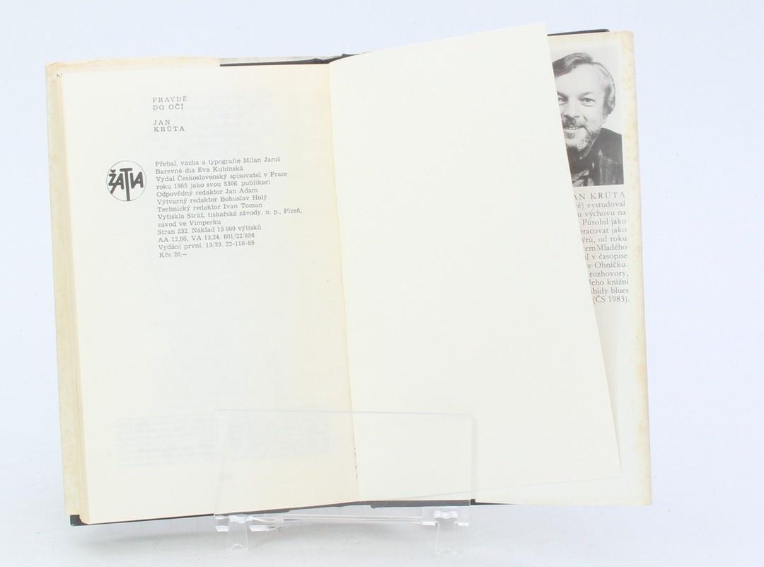 Kniha Jan Krůta: Pravdě do očí