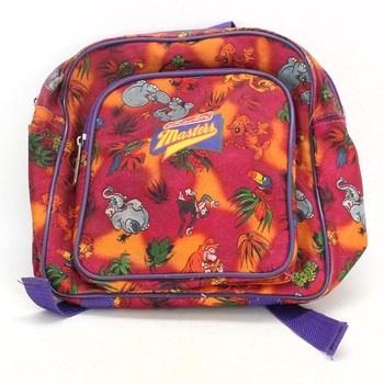 Dětský batoh Herlitz barevný se zvířátky