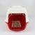 Cestovní box Kerbl 81346 bílo-červený