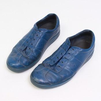 Pánské boty značky Ecco modré barvy