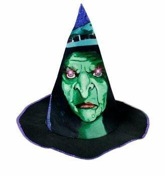 Čarodějnický klobouk se zvuky