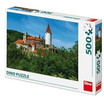 Puzzle DINO Křivoklát 500 dílků