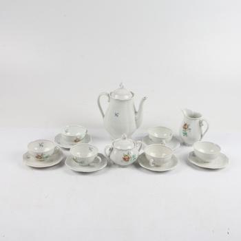 Čajový/Kávový porcelánový servis malovaný