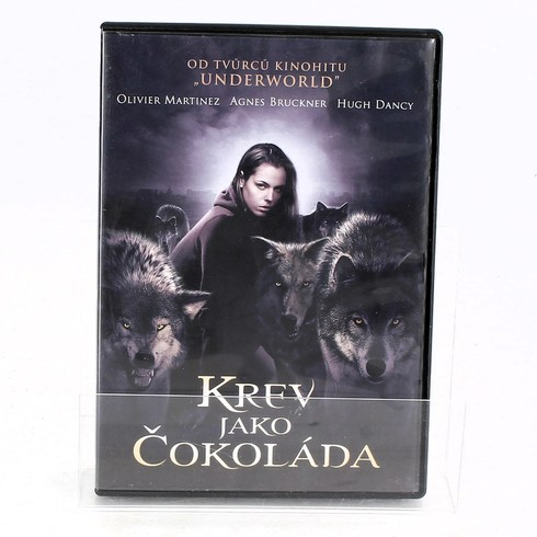 DVD Krev jako čokoláda DVD
