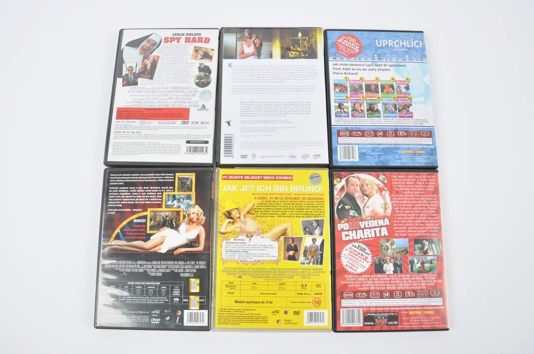 6x DVD - Spy Hard, Uprchlíci a další