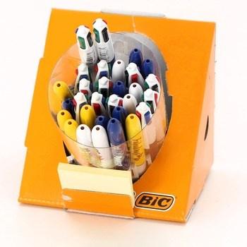 Čtyřbarevná kuličková pera BIC 964904 30 ks