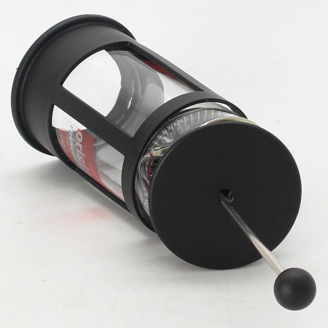 Mechanické espresso černé