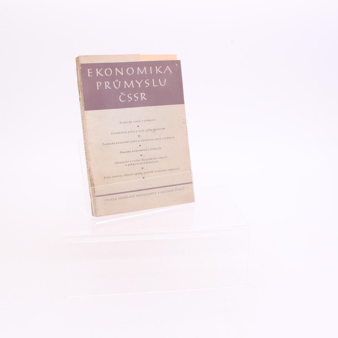 Učebnice Ekonomika průmyslu ČSSR