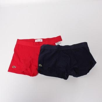 Pánské boxerky Lacoste 5H3378 vel.M, 2ks