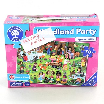 Puzzle 70 Orchard Toys Woodland party