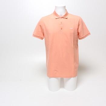 Pánské polo tričko Hugo oranžové