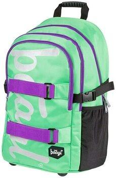 Školní batoh Baagl zelený