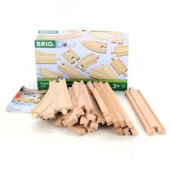 Dřevěné koleje Brio 33402
