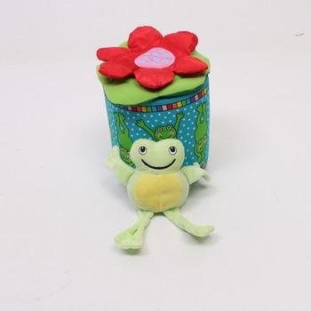 Dětská hračka plyšová Galt Frosch