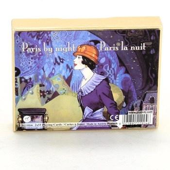 Hrací karty Piatnik 2290 Paris by Night