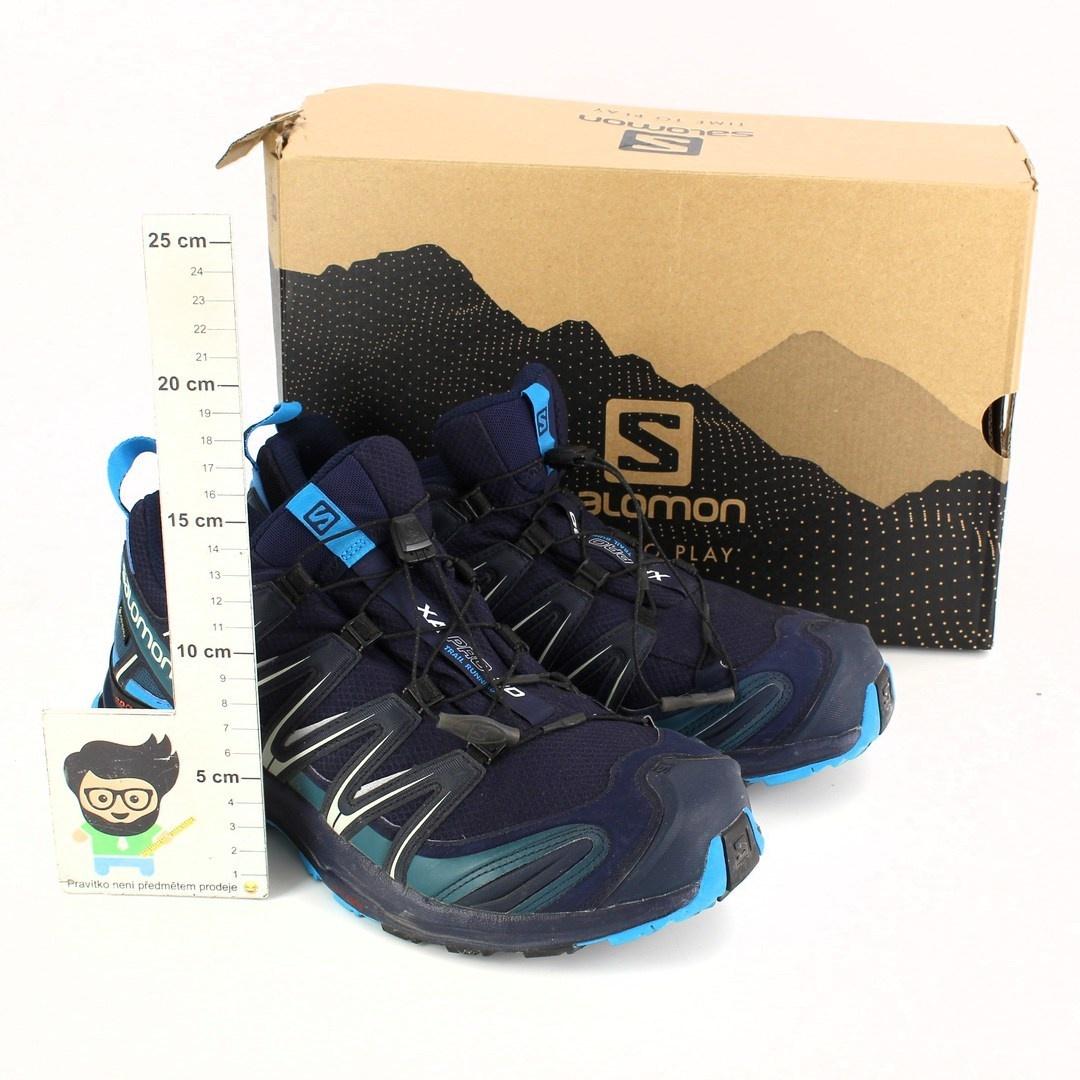 Pánská turistická obuv Salomon semiš