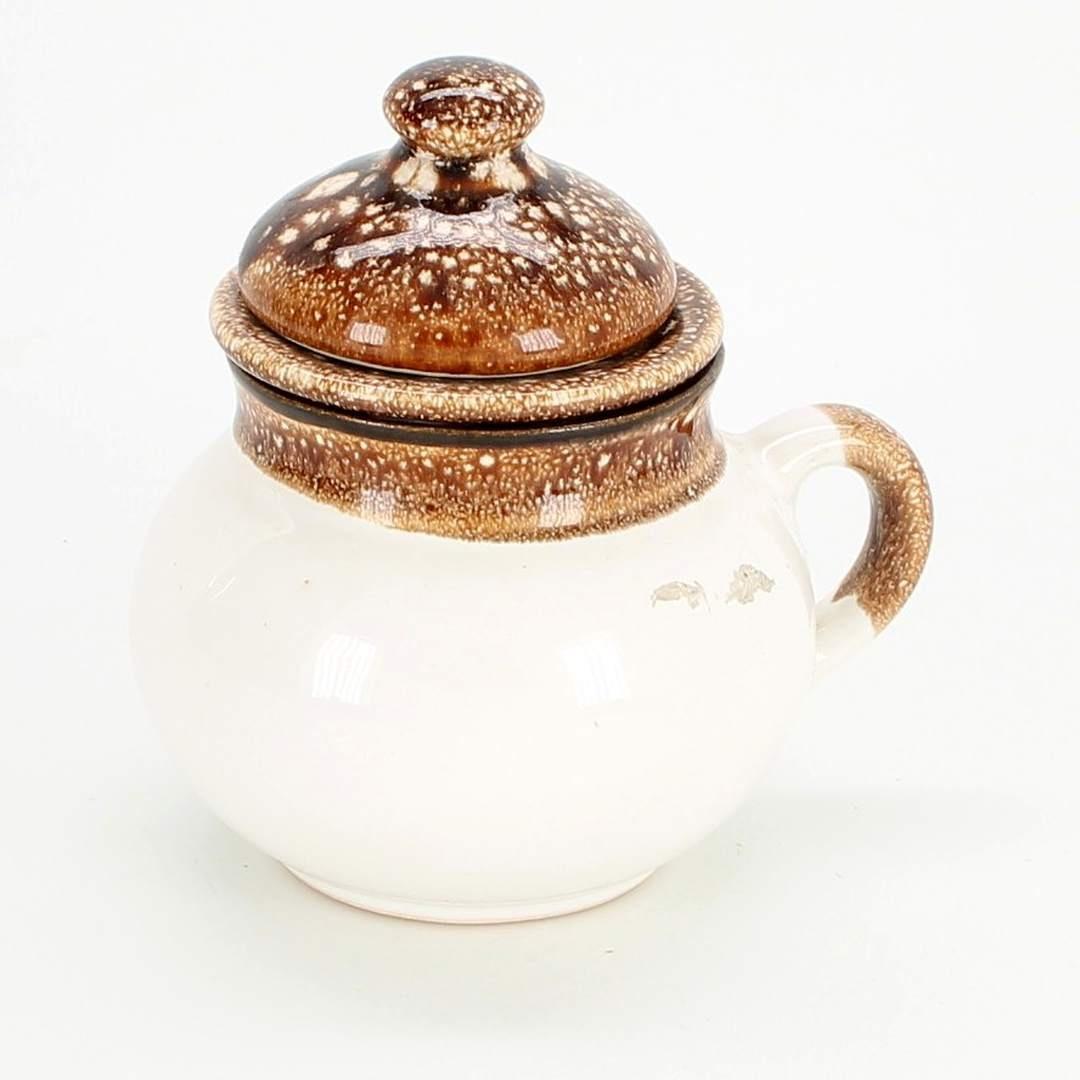 Konvice na čaj keramická