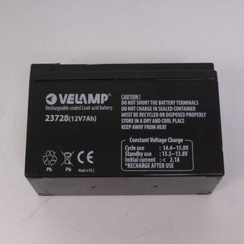 Olověný akumulátor Velamp 23728