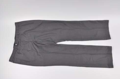 Pánské společenské kalhoty šedé