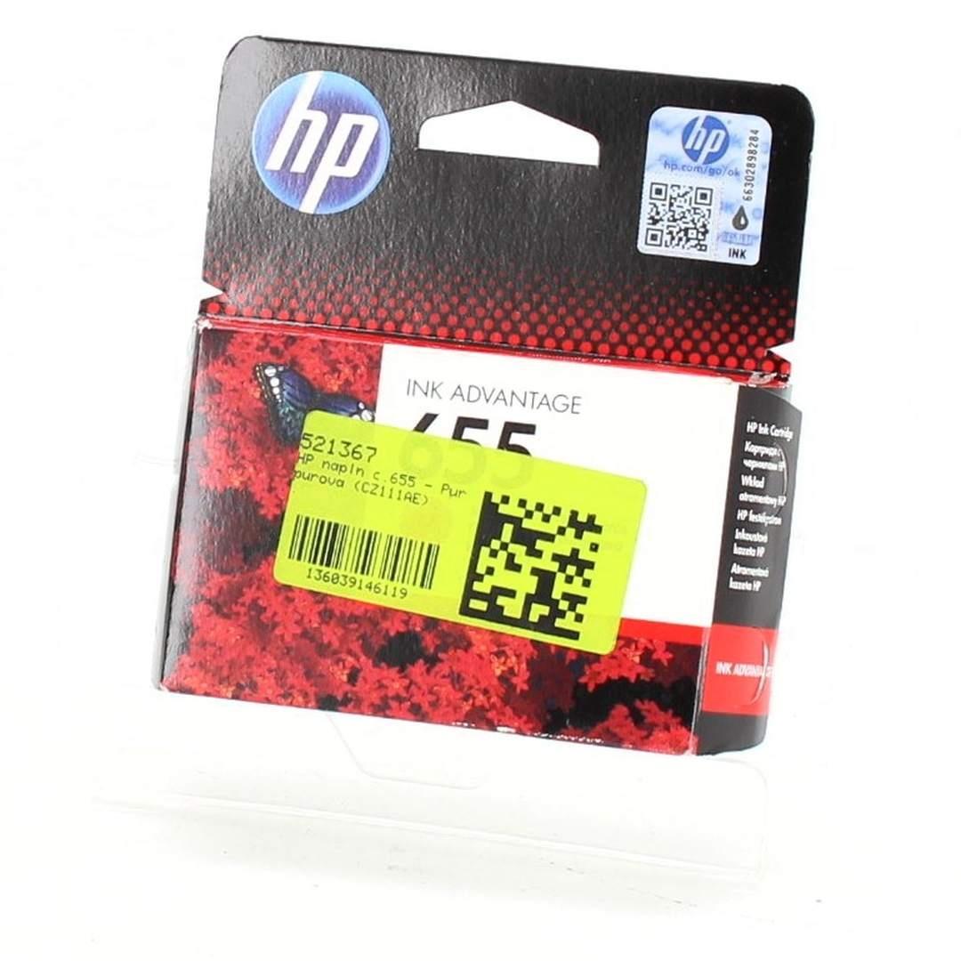 HP 655 CZ111A purpurová