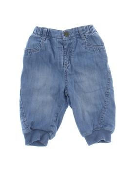 Zateplené kalhoty Next modré