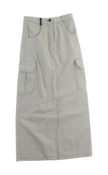 Dětská dlouhá sukně Parrot šedá