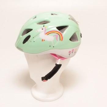 Dětská helma Alpina s jednorožcem A9710