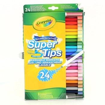 Fixy Crayola omyvatelné, 24 ks