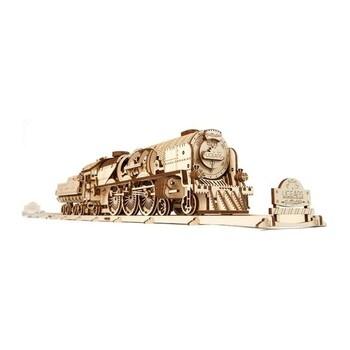 Model parní lokomotivy UGears 70058