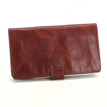 Kožená peněženka pánská hnědá