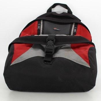 Batoh na fotoaparát Lowepro červeno černý