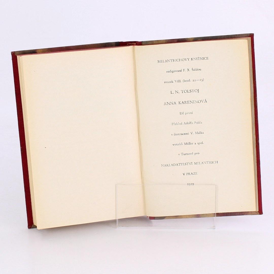 Kniha Lev N. Tolstoj: Anna Kareninová 1. díl