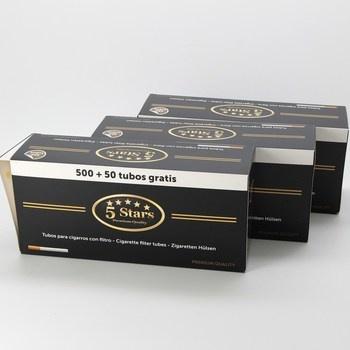 Cigaretové dutinky s filtrem 5 stars