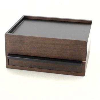 Šperkovnice dřevěná výsuvná