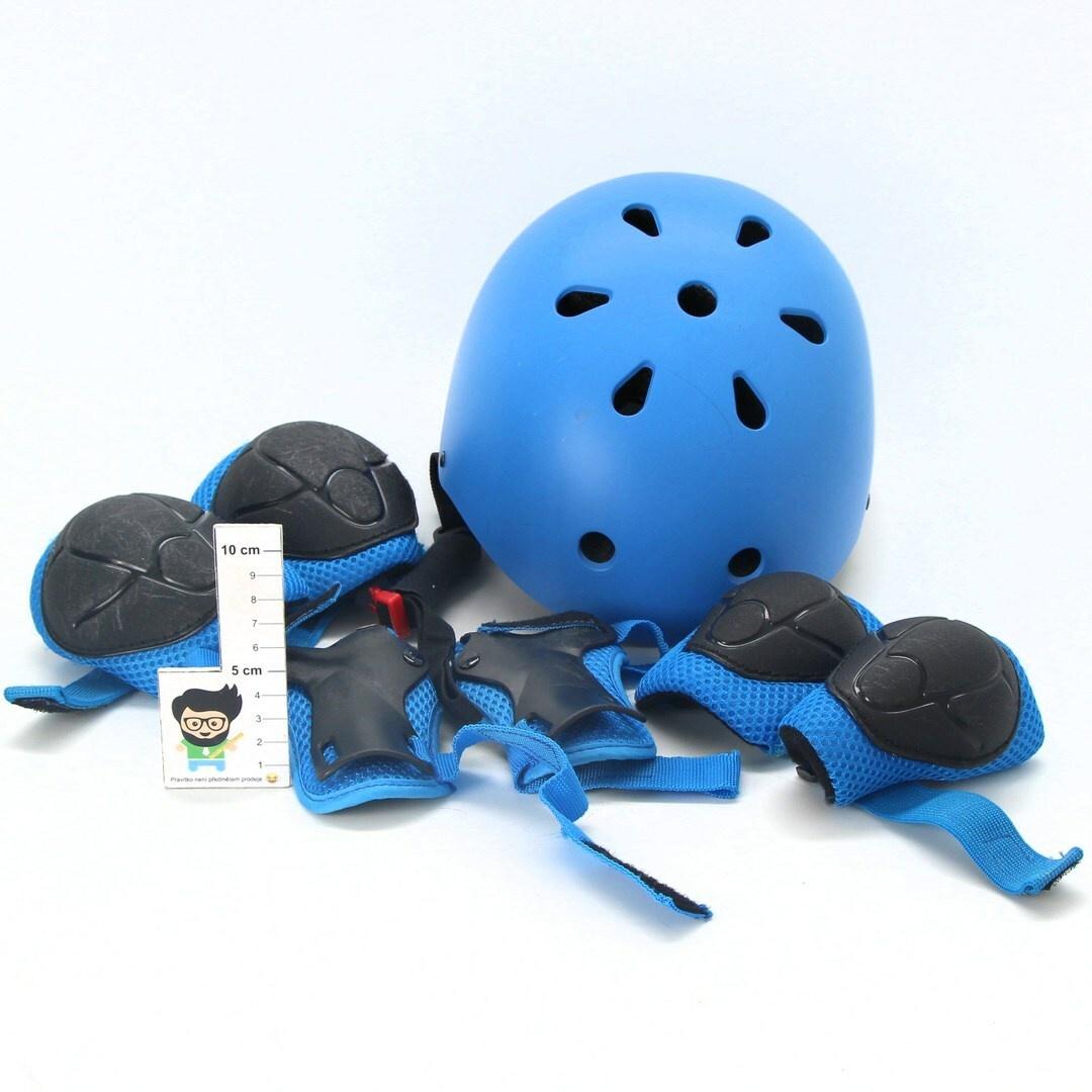 Dětská přilba SKL 7 v 1 modrá
