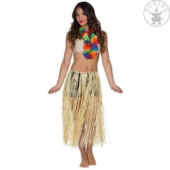 Havajská sukně Hawaii 72 cm přírodní